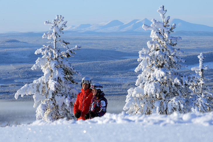 <strong>Swedish Skiing Adventure</strong><br />© Idre Fjäll