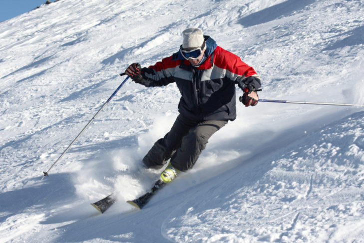 Maneuverability and a centre of gravity over the skis is incredibly important.
