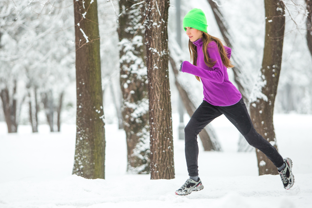 Как похудеть подросткам зимой