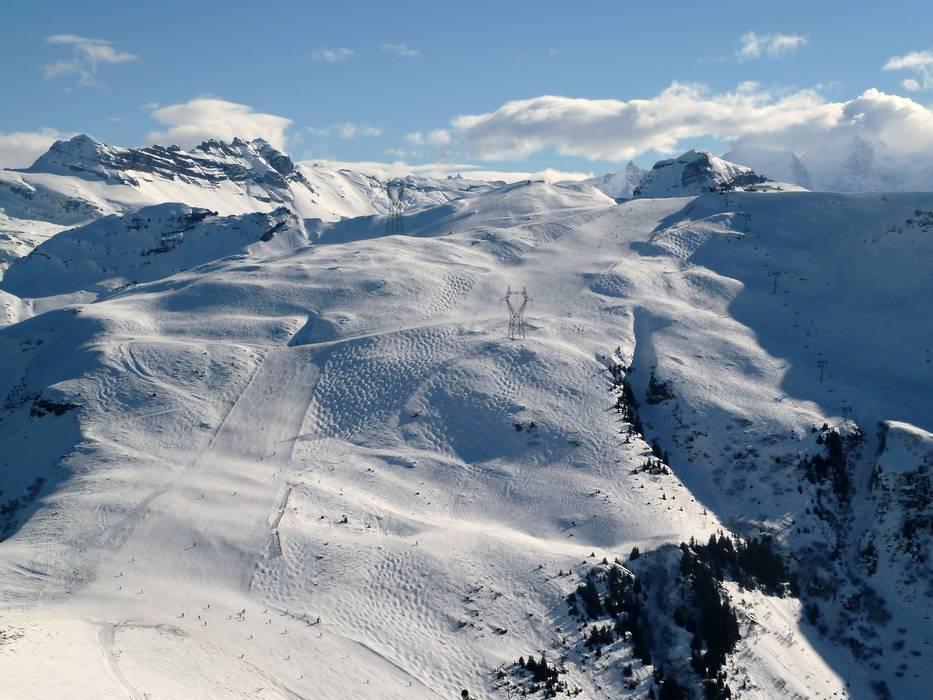 Flaine ski area: Grand Massif – skiing, ski area map & après ski