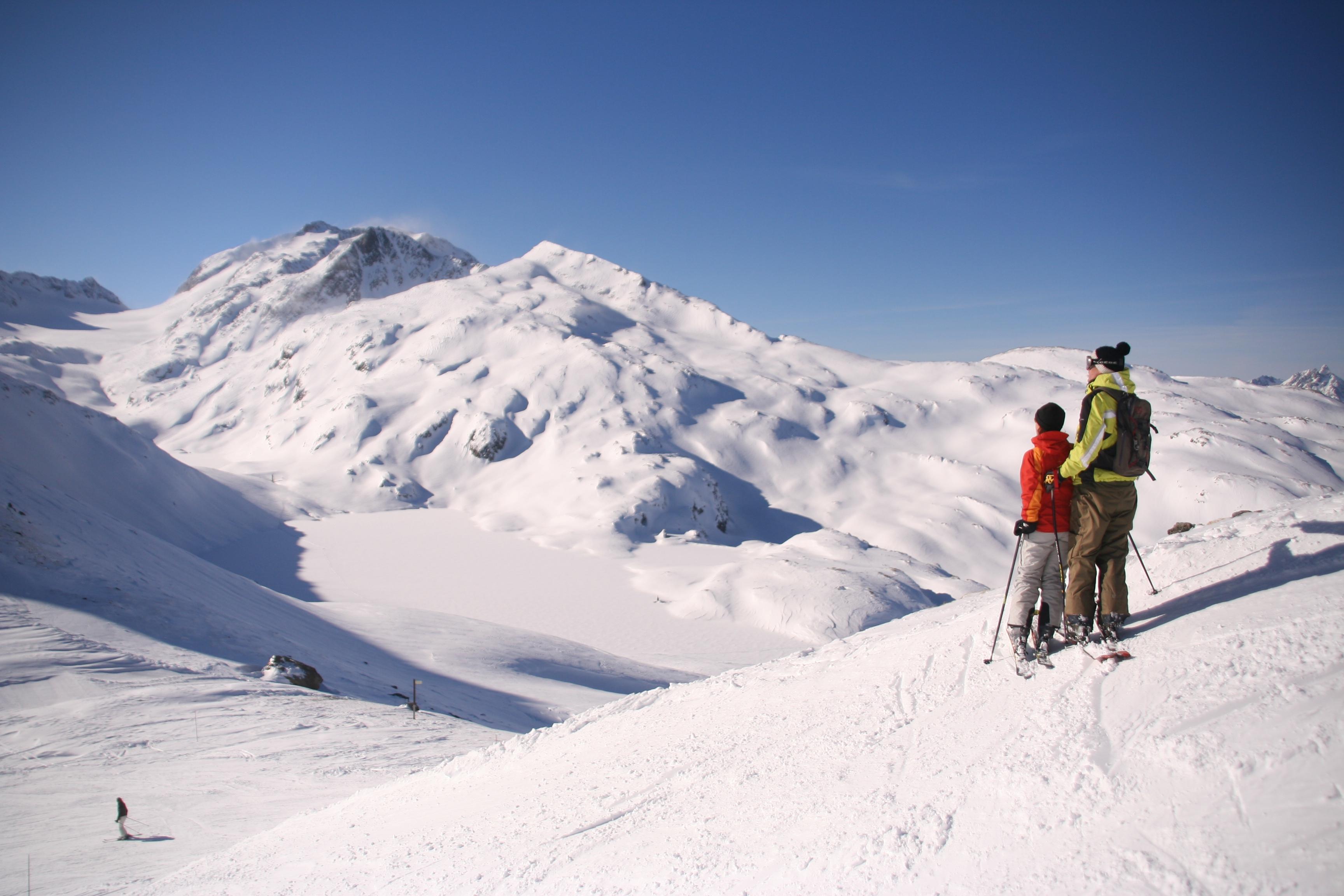 saint sorlin d'arves ski area: les sybelles – skiing, ski area map