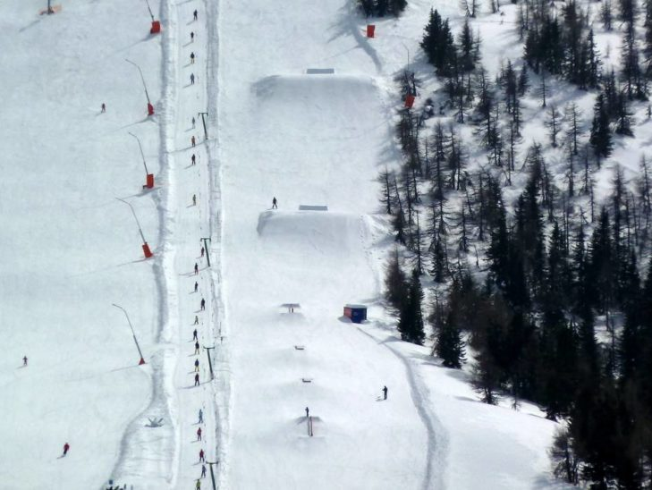 The Funslope in the Bad Kleinkirchheim/St. Oswald ski area provides plenty of action.