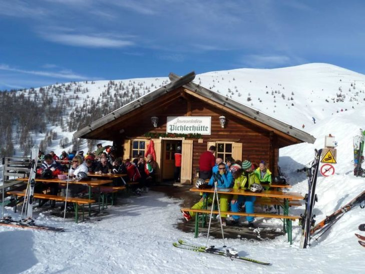 The Pichlerhütte provides refreshment in Val d'Isarco.