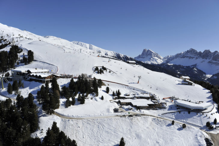 The Eisacktal ski area stretches up to 2,510 m altitude.