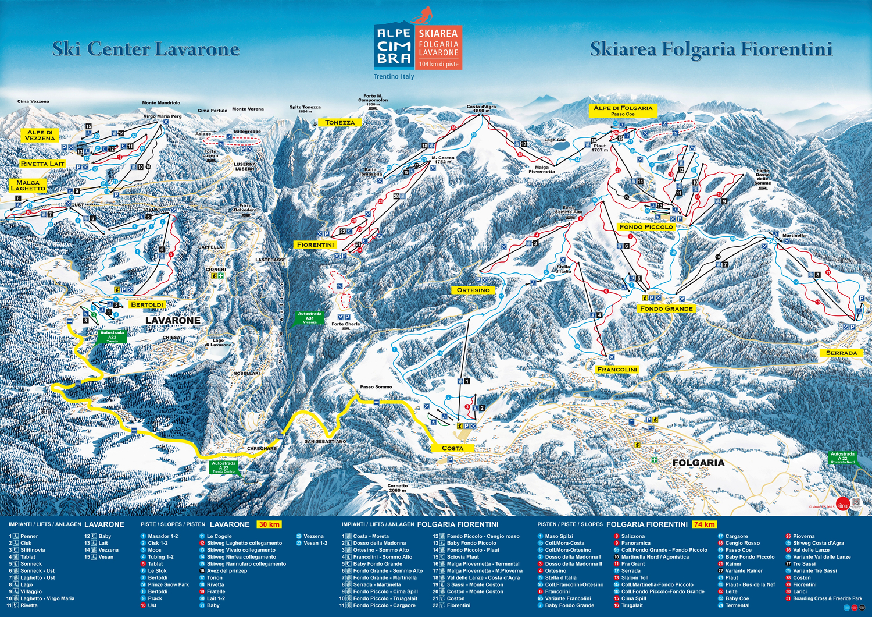 Folgaria-Lavarone Ski Area – Skiing, ski area map & après-ski
