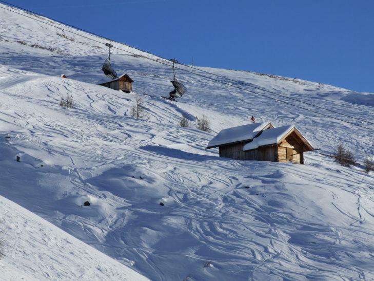 Großglockner-Heiligenblut ski area: an Eldorado for freeriders.