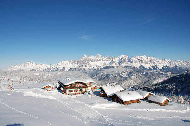 Cosy mountain huts with great views on the Reiteralm offer the perfect break.