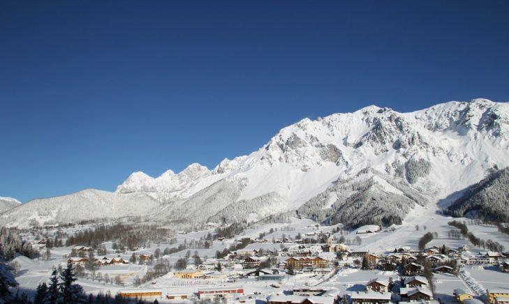 View of Ramsau am Dachstein.