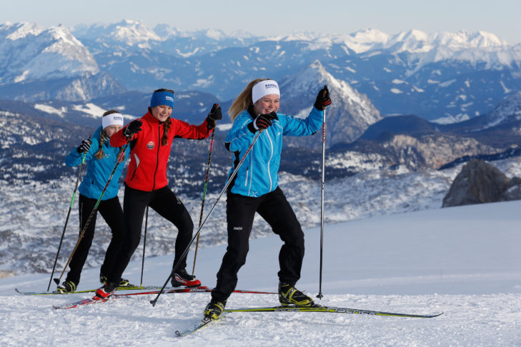 Cross-country facilities, from classic to skating, in the Schladming-Dachstein region.