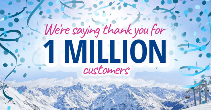 SnowTrex is celebrating a whopping 1 million customers this fall.