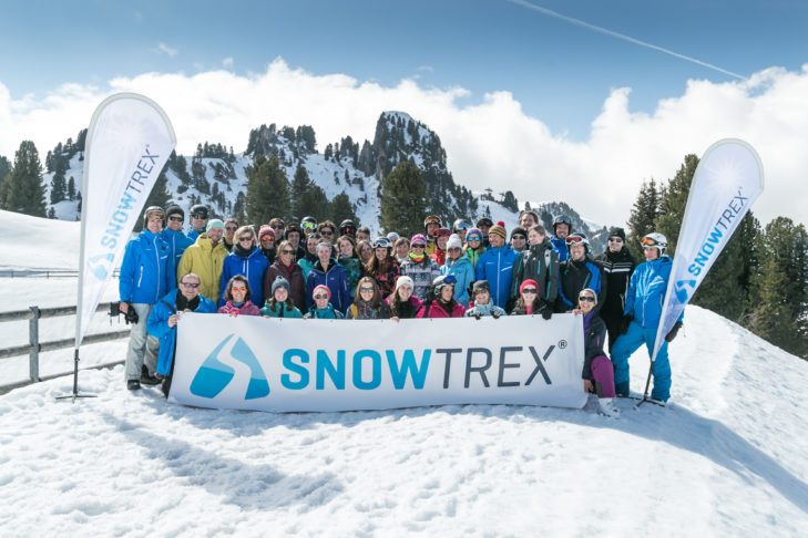 The SnowTrex Team is constantly growing. Today, SnowTrex has a diverse, international team of over 100 employees.