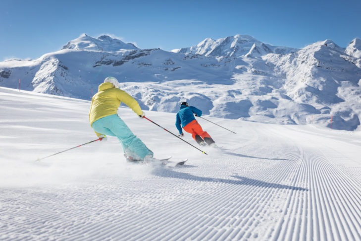 In the Zermatt ski area, there's snow all year long!