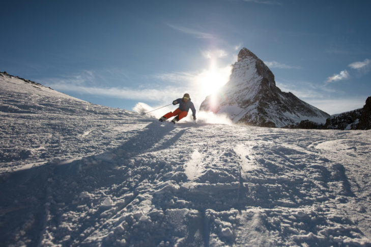 Skiing in Zermatt: Dreamy Scenes of the Matterhorn.