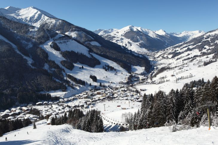 View of Saalbach.