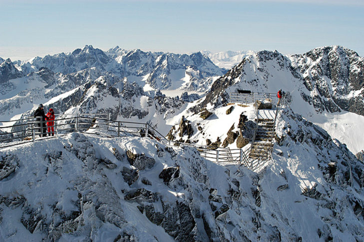 Winter holidays in Slovakia - in the High Tatras, for example.