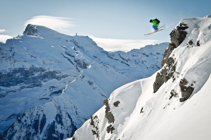 In Engelberg-Titlis, freeriders will find exciting descents even off-piste.