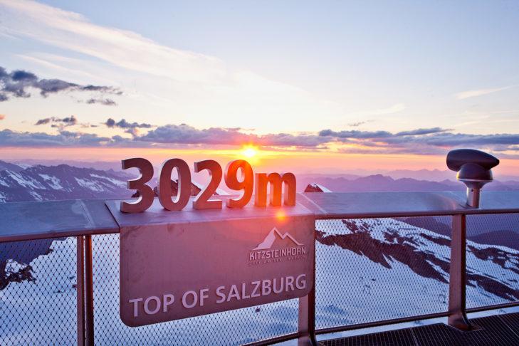 "The ""Top of Salzburg"" at the Kitzsteinhorn."