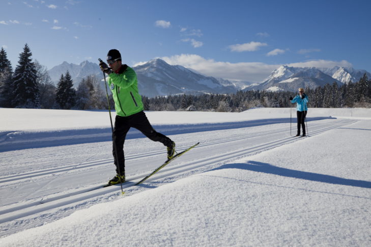 Dream scenery for cross-country skiing in Kaiserwinkl.