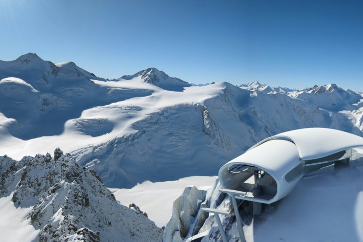 Number 1 of the highest ski areas: The Pitztal Glacier.