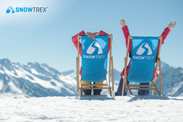 Enjoy the sun in the snow - simply wonderful.
