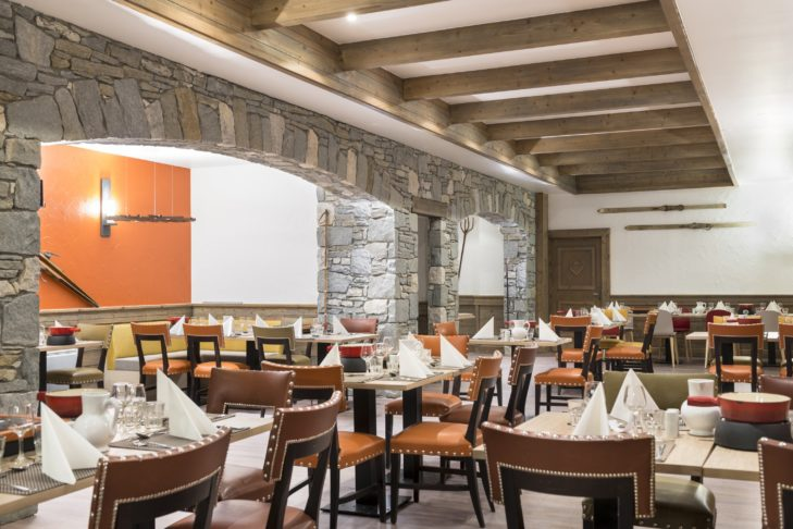 """The Club Med - Arcs Extrême is an """"Adults Only"""" resort and impresses with its excellent restaurant."""