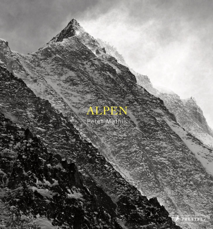 """Illustrated book """"Alpen"""" by Peter Mathis, 2017."""