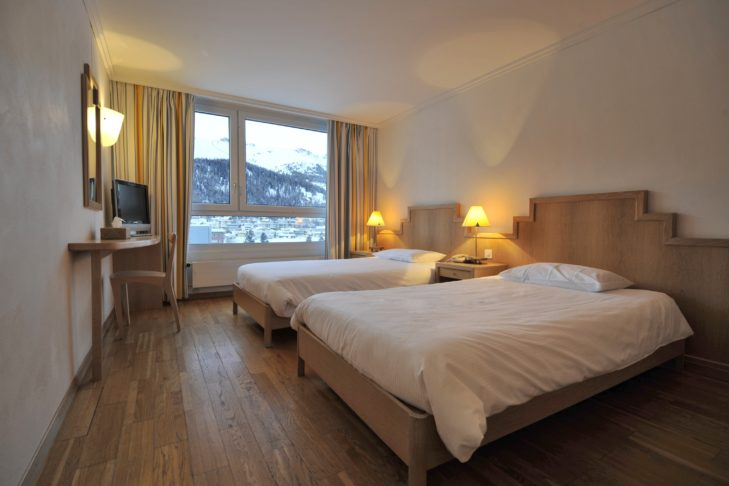 Comfortable room at Club Med - Saint-Moritz Roi Soleil.