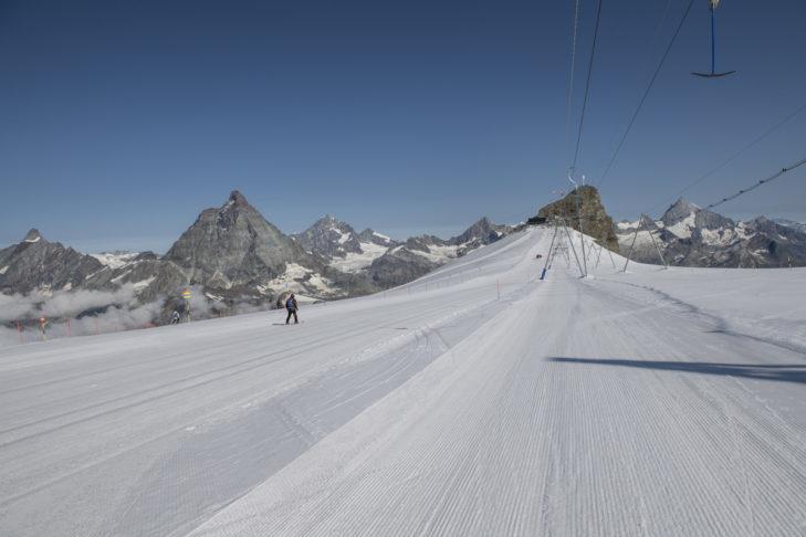 Fancy the highest piste in the Alps? Then let's go to Zermatt!