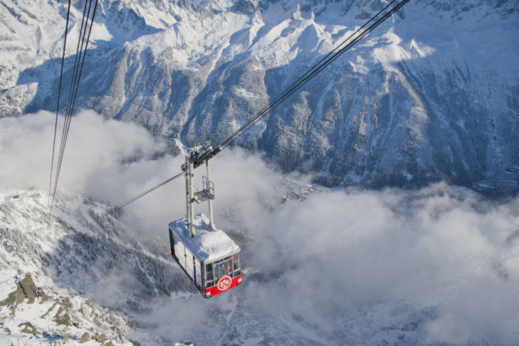 At Mont Blanc, the highest mountain in the Alps, you'll reach new heights.