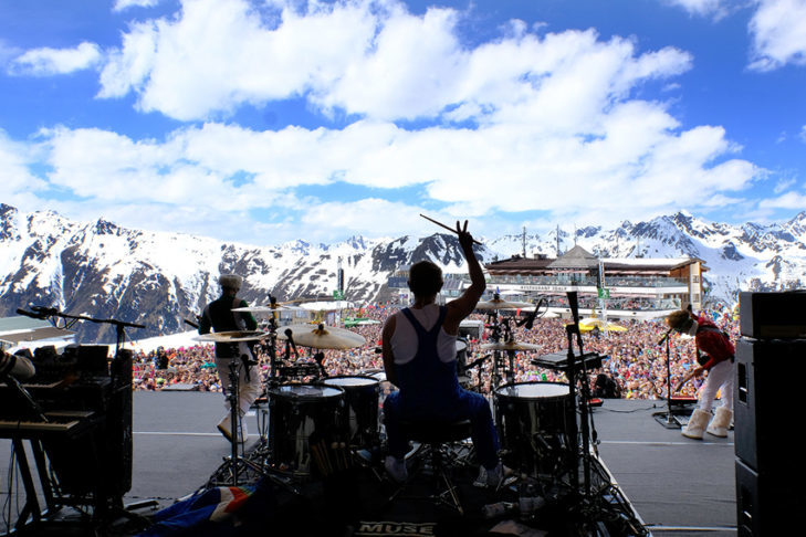One of the highlights in Ischgl: The Top of the Mountain concerts.