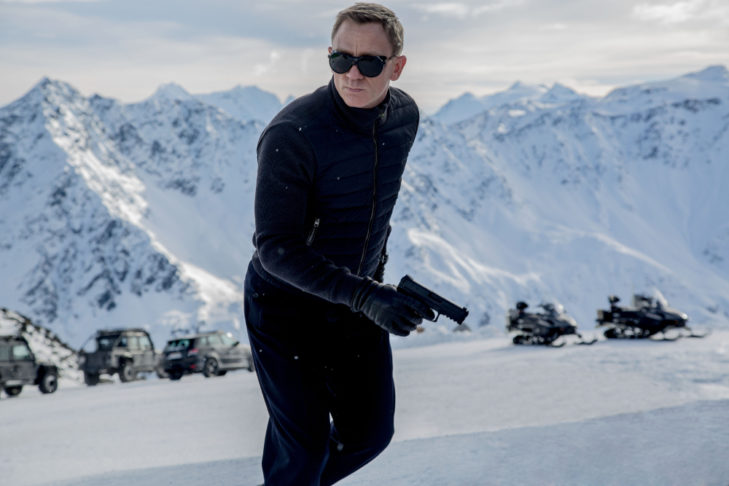 "Daniel Craig as James Bond in ""Spectre""."