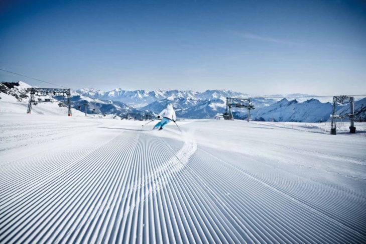 Perfect snow at Kitzsteinhorn.