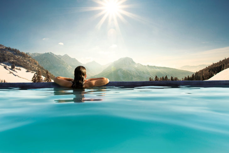 The truth: During a ski holiday there are numerous other offers for diverse leisure activities.