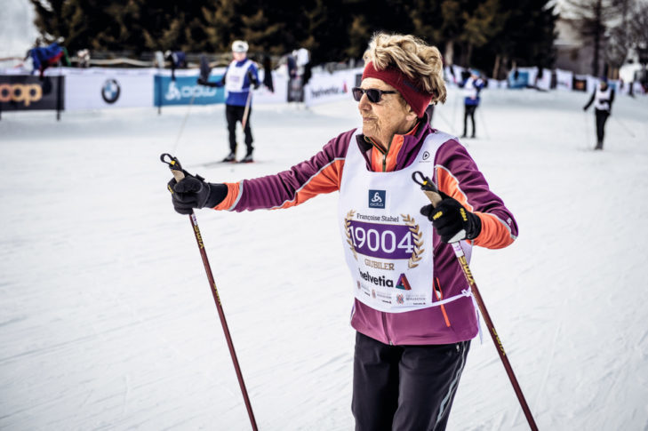 The truth: As long as the state of health is right, winter sports are possible at any age!