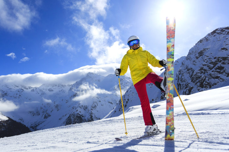 The truth: A ski holiday is a successful mixture of sport and relaxation.
