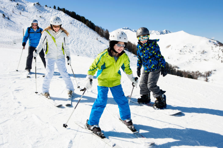 The truth: Children learn skiing best at the ski school.