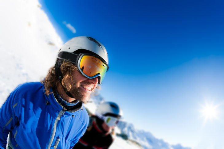 The truth: Spring is the time when there is usually plenty of sun on the slopes.