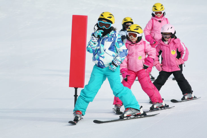 The truth: A skiing holiday with children is just as (un)strenuous as any other holiday with children.