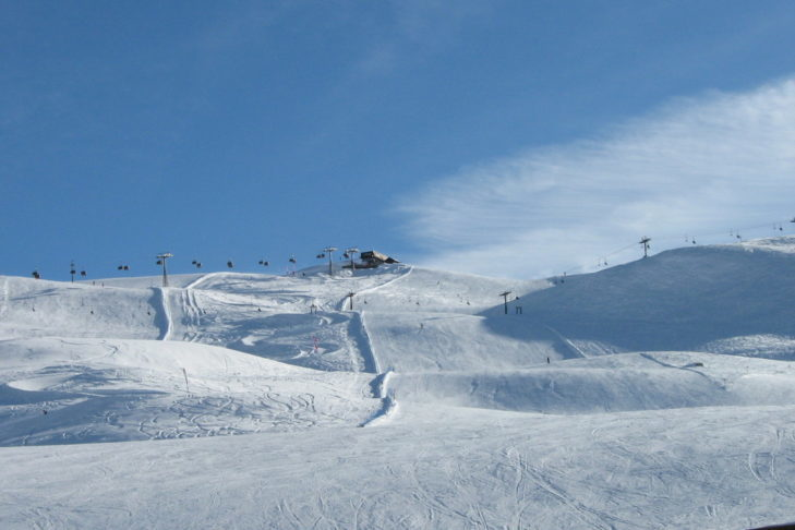 Travel Report from Livigno: The wide pistes leave plenty of room for carving.