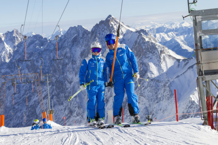 The ski instructors of the DSLV give helpful fitness tips for winter sports fans.