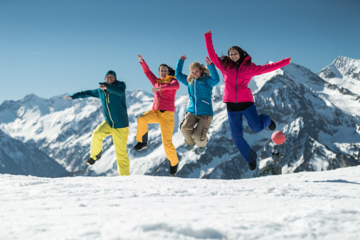 Those who are fit have even more fun with winter sports!