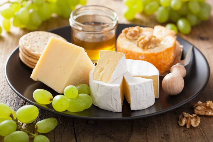 Certain types of cheese, such as Harz cheese, are good sources of protein.